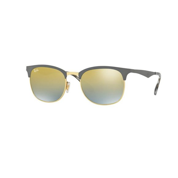 Ray-Ban Gold/Grey Sunglasses Rb3538 9007a7 53